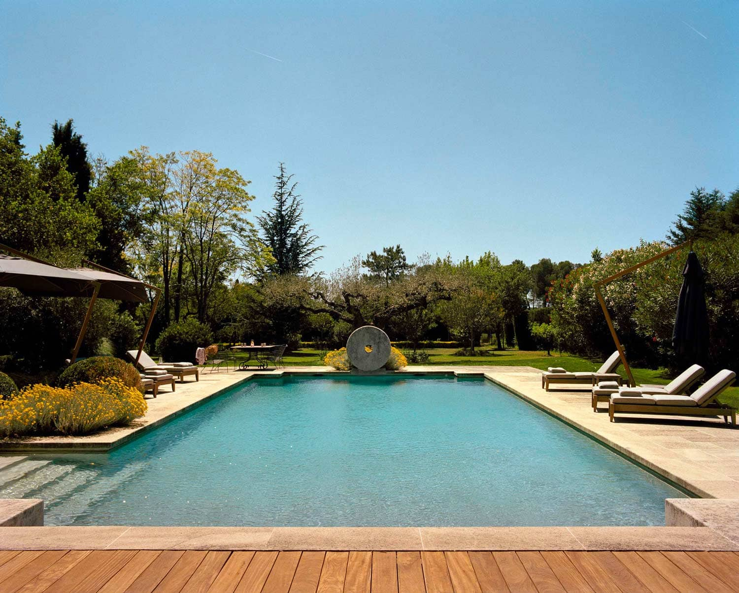 location villa piscine alpilles